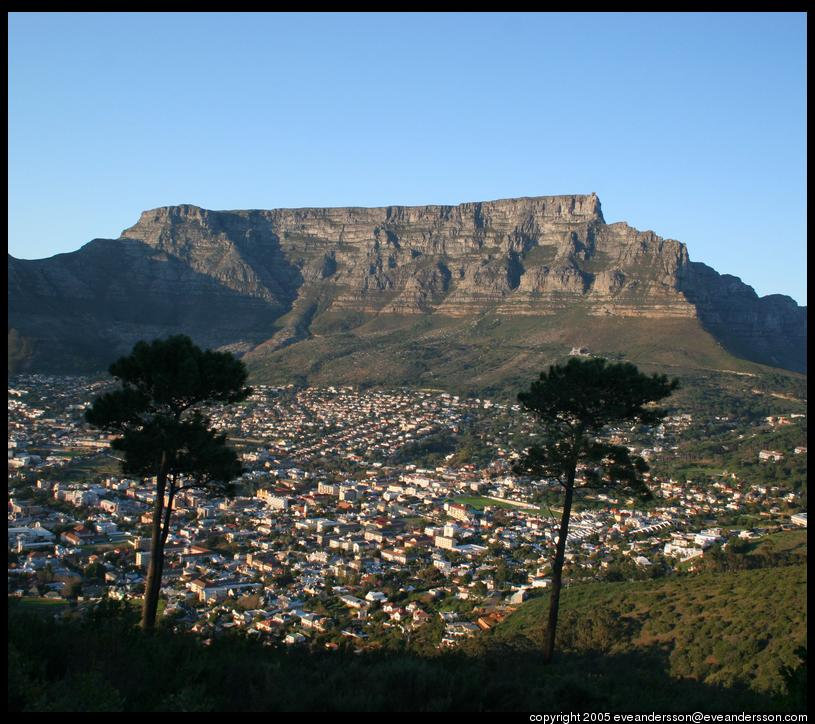 tabletop mountain cape town south africa